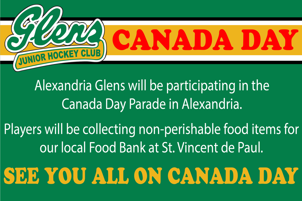 Canada Day and Glens