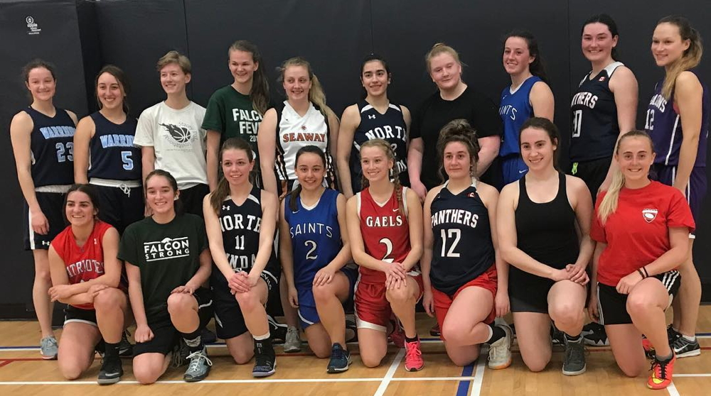 girls basketballers