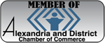 Member of Alexandria and District Chamber of Commerce
