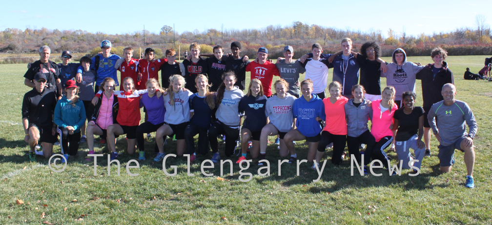 GDHS 2016 cross-country team