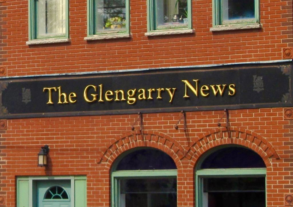 Glengarry News building