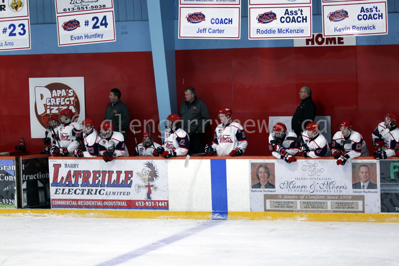 Rebels at the bench