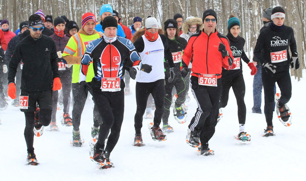 snowshoe racing