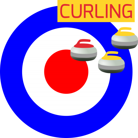 curling graphic